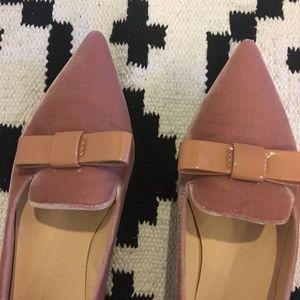 Ivanka Trump Shoes - Ivanka Trump Lelle velvet pointed toe shoes
